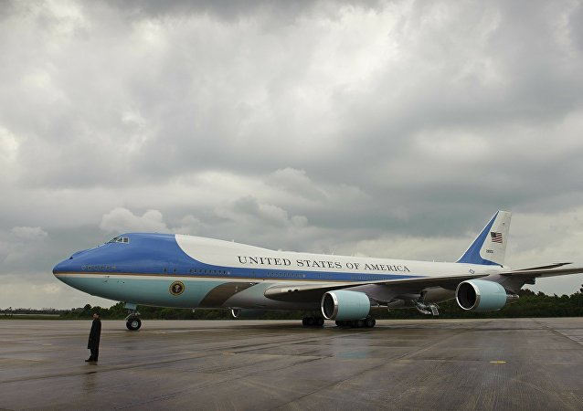 To Air Force One του αμερικανού Προέδρου