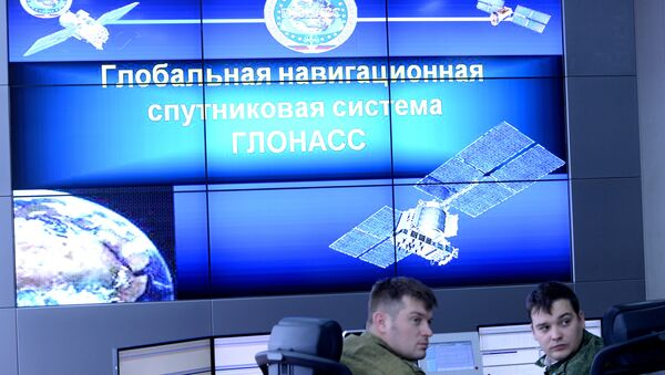 The command and control post of GLONASS in the Titov Main Space Testing Center in Krasnoznamensk, the Moscow Region. (File) - Sputnik Ελλάδα