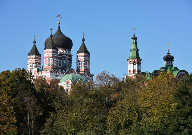 St. Panteleimon's Cathedral in Kiev