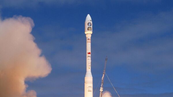 Orbital Sciences Corporation and the Republic of China's National Space Program Office successfully launched a Taurus XL rocket 20 May 2004, from launch pad 576E on North Vandenberg from Vandenberg Air Force Base in California. The rocket carries the ROCSAT-2 remote sensing satellite. Its mission is to observe and monitor the terrestrial and marine environment and natural resources throughout Taiwan, its remote islands and surrounding ocean for civil applications. - Sputnik Ελλάδα