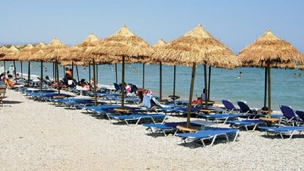 To beach bar «Summer Sunshine» - Sputnik Ελλάδα