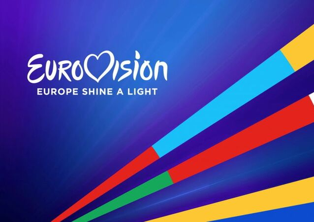 Το λογότυπο του Eurovision: Europe Shine A Light